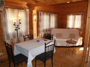 Comedor cabaña 4 personas