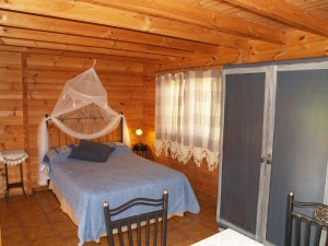 Dormitorio cabaña 4 personas