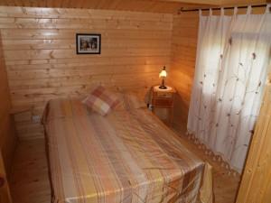 Dormitorio 1 cabaña 5-6 personas