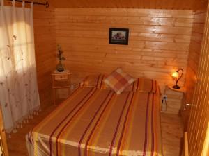 Dormitorio 2 cabaña 5-6 personas