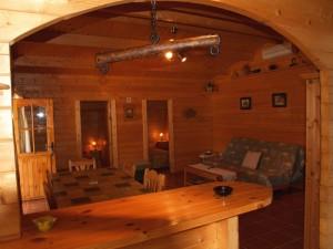 Interior cabaña 5-6 personas