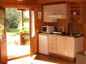 Cocina cabaña 2-3 personas